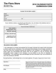 fierostore2018 calendar submission form