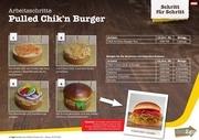 pulled chik n burger