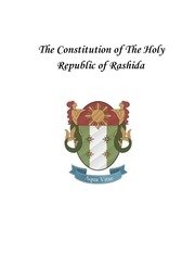 the constitution of the holy republic of rashida