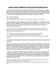 PDF Document praise and thanksgiving during tribulation
