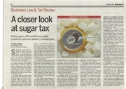 a closer look at the sugar tax 1 aug 2016