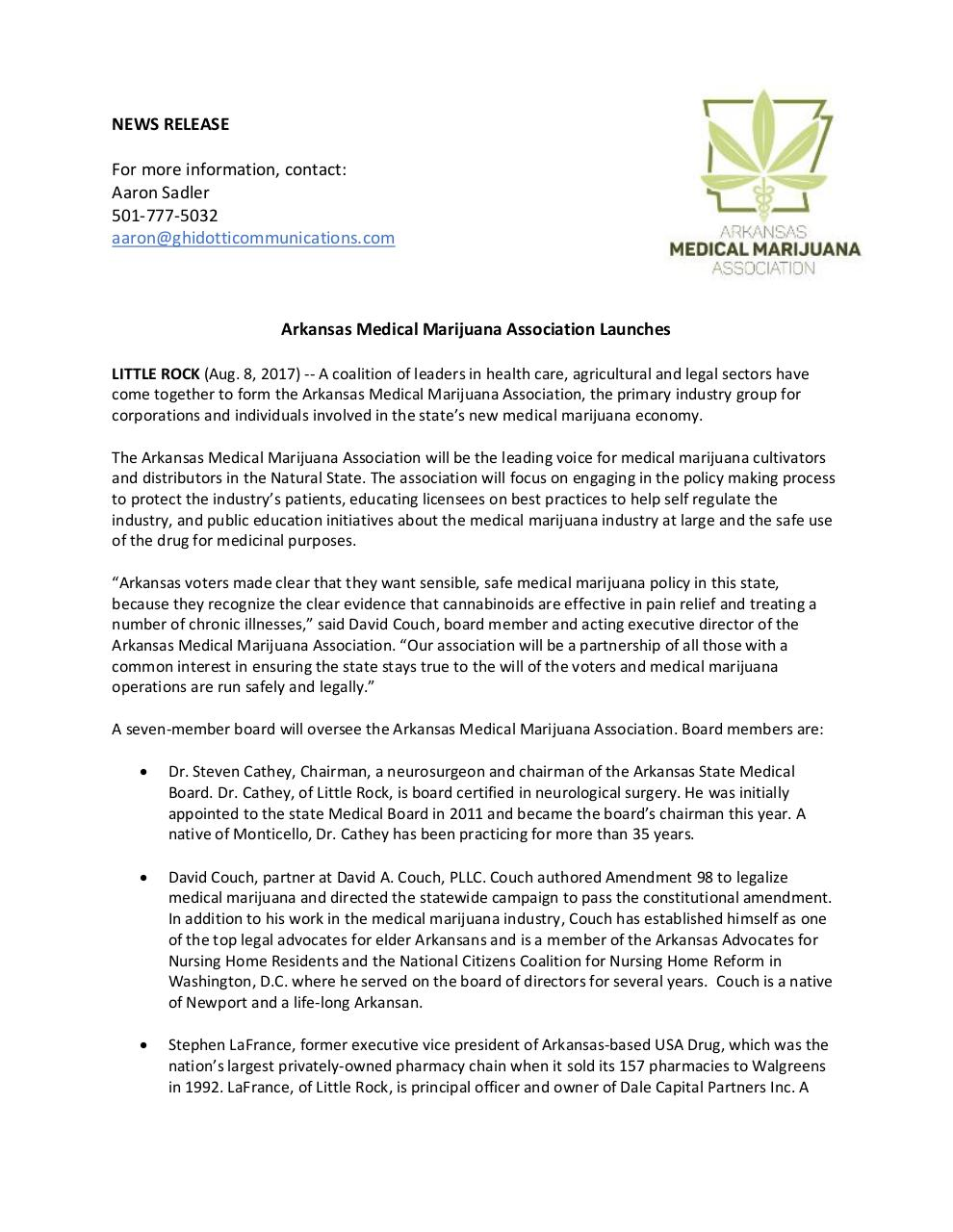 AMMA_NewsRelease_Announcement.pdf - page 1/2