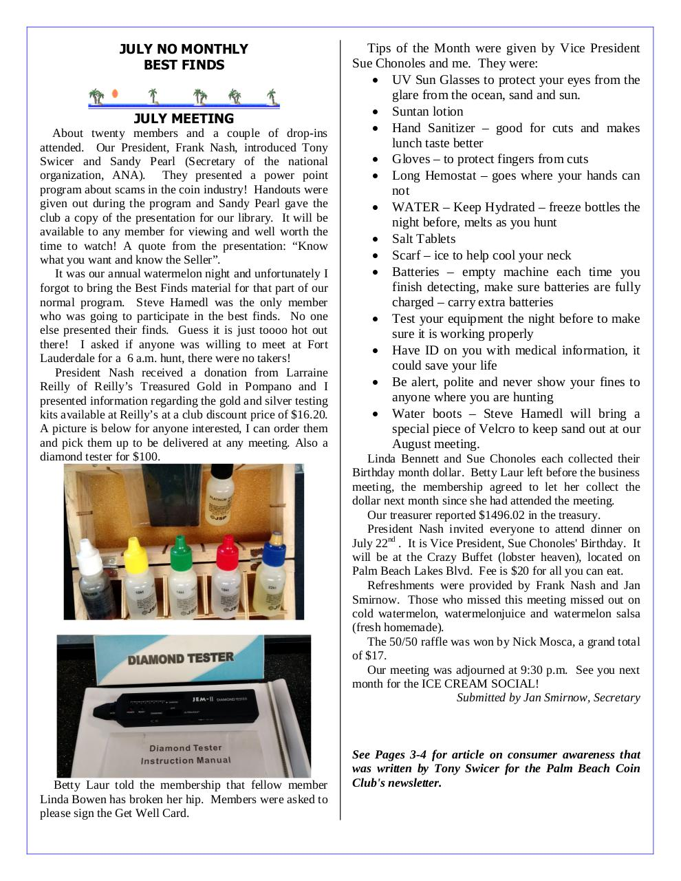 Preview of PDF document gctc-august-2016-newsletter.pdf - Page 2/5