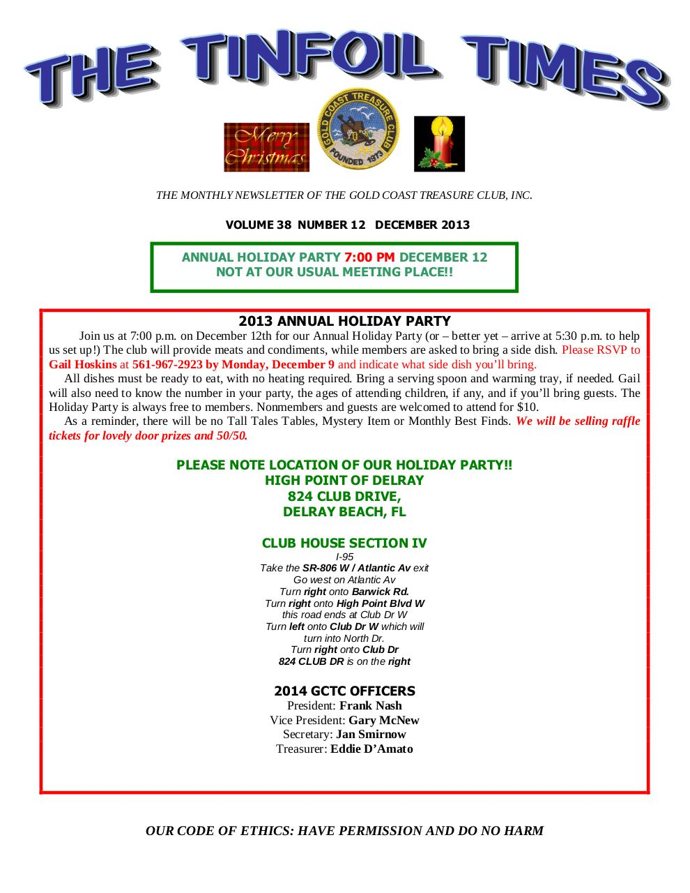Preview of PDF document gctc-december-2013-newsletter.pdf - Page 1/6
