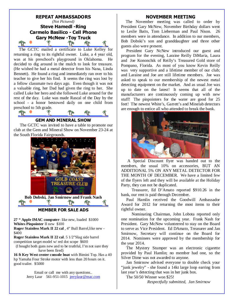 Preview of PDF document gctc-december-2013-newsletter.pdf