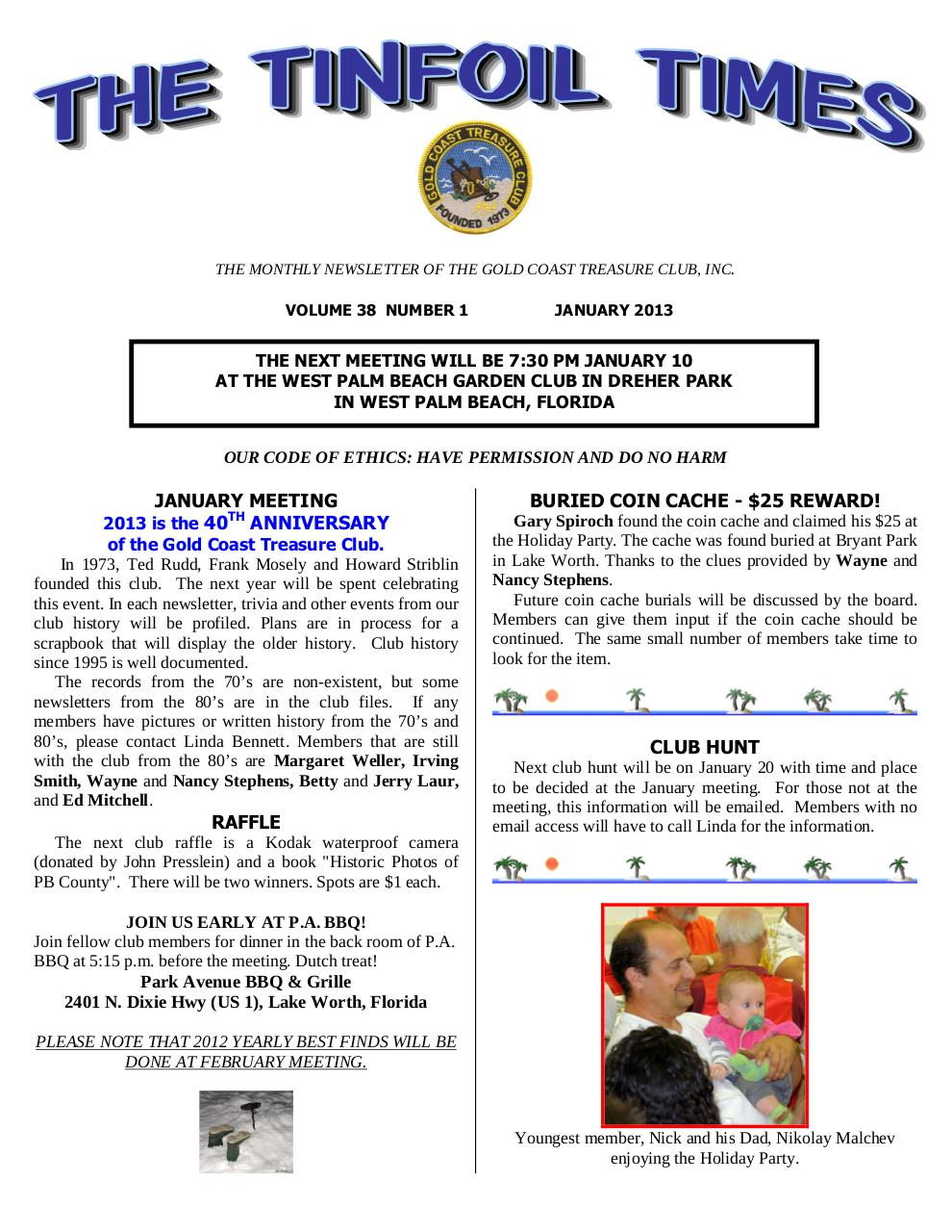 Preview of PDF document gctc-january-2013-newsletter.pdf - Page 1/6