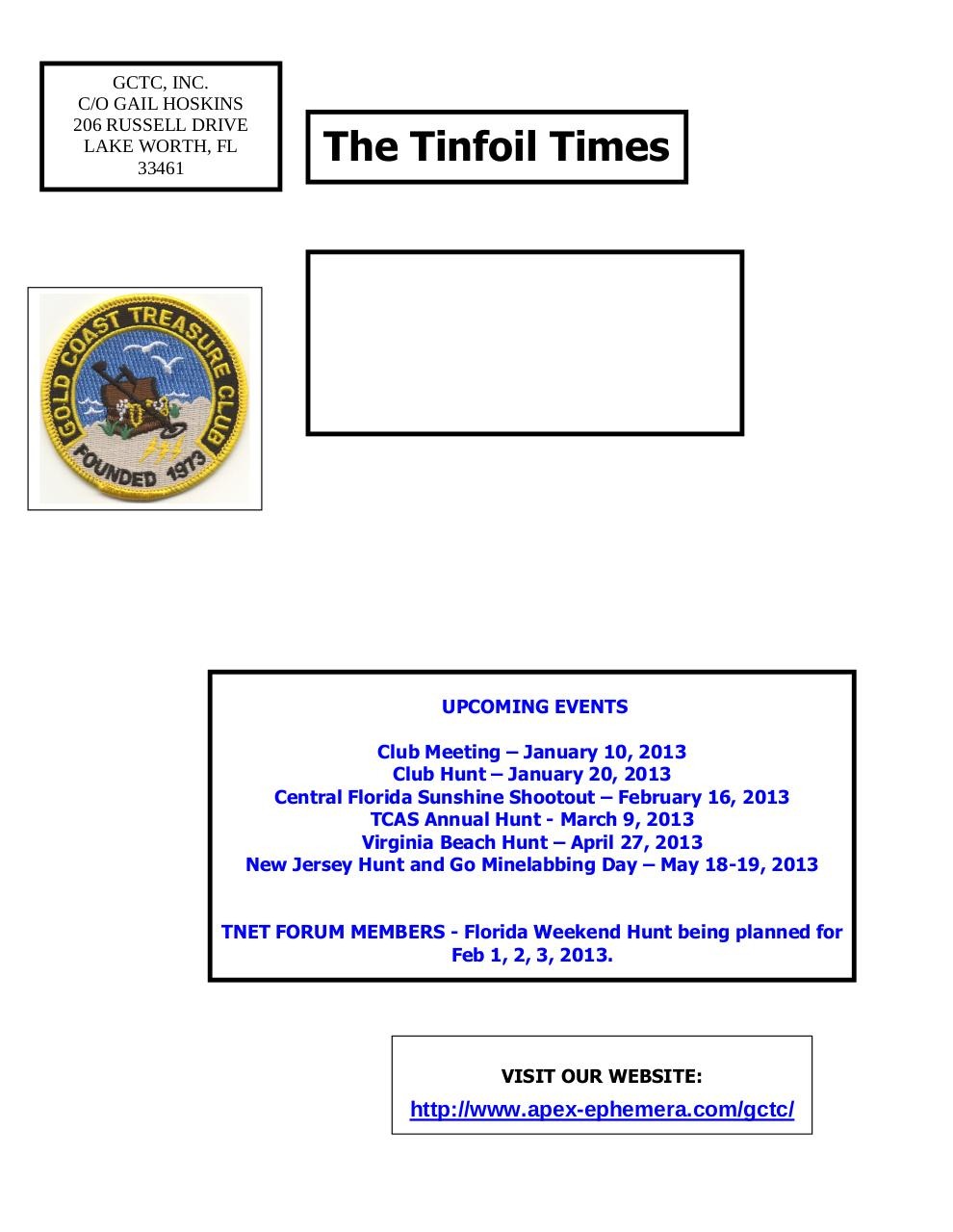Preview of PDF document gctc-january-2013-newsletter.pdf