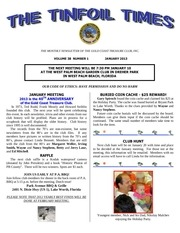 gctc january 2013 newsletter