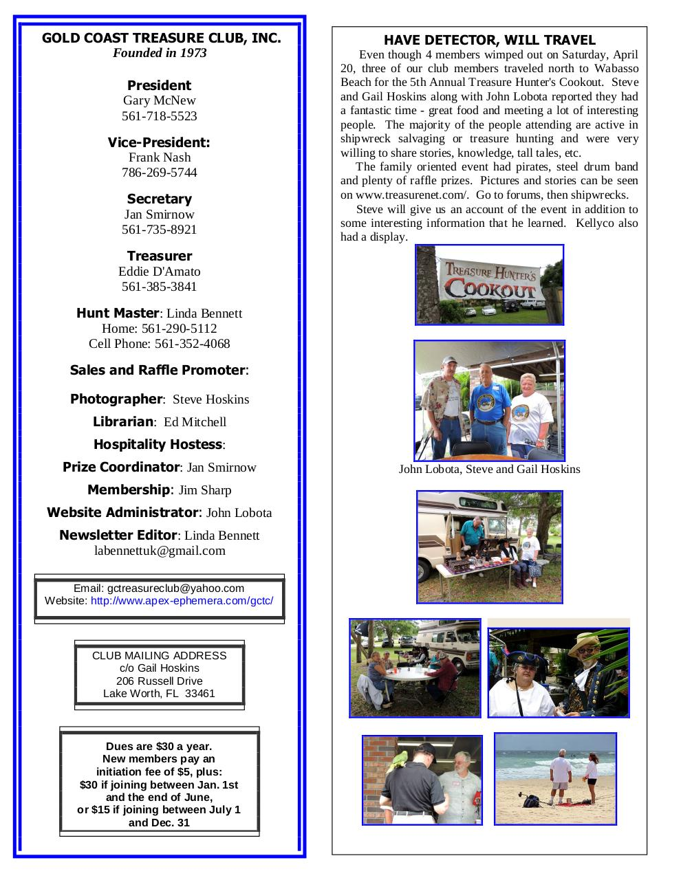 GCTC May 2013 Newsletter.pdf - page 2/6