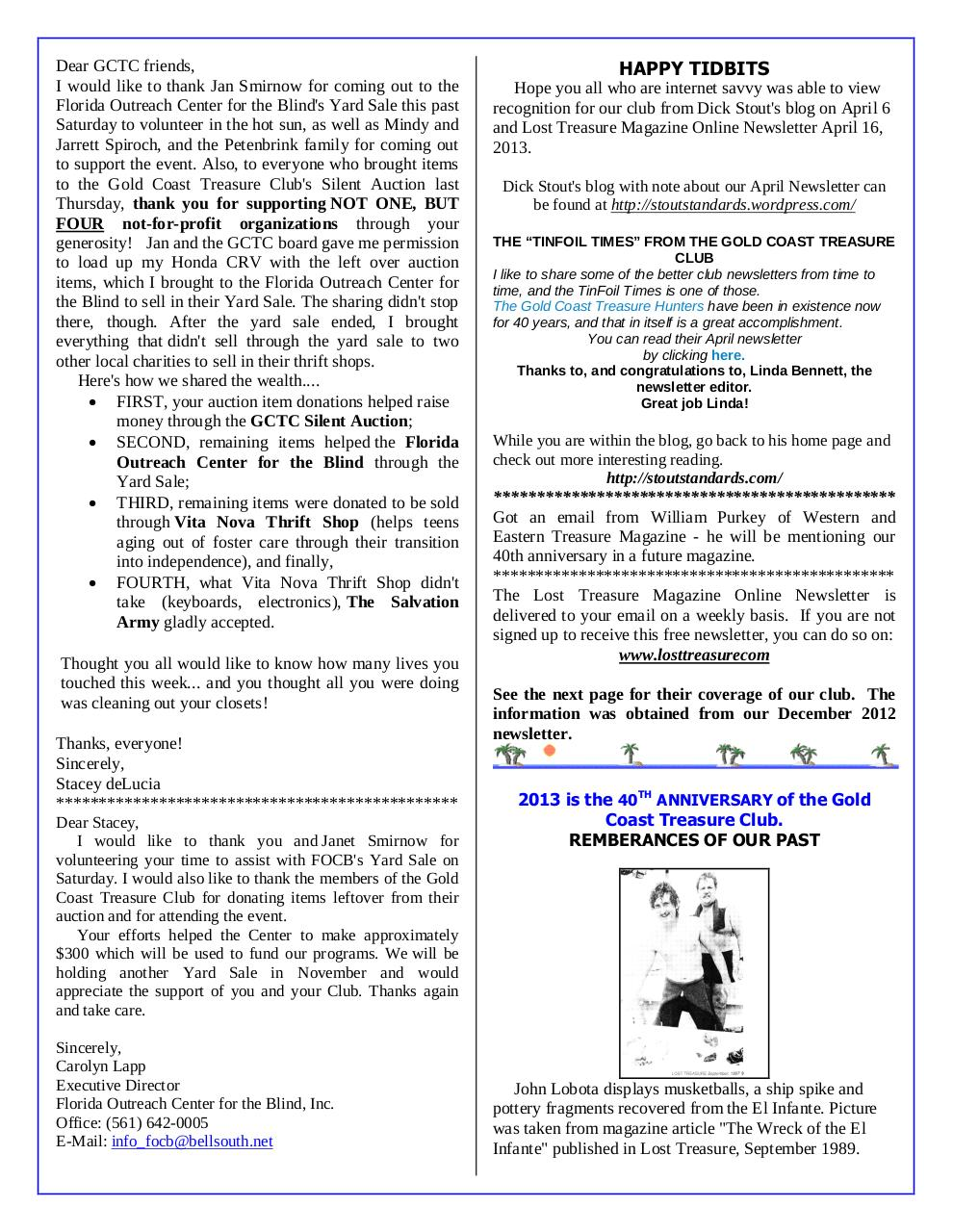 Preview of PDF document gctc-may-2013-newsletter.pdf - Page 4/6