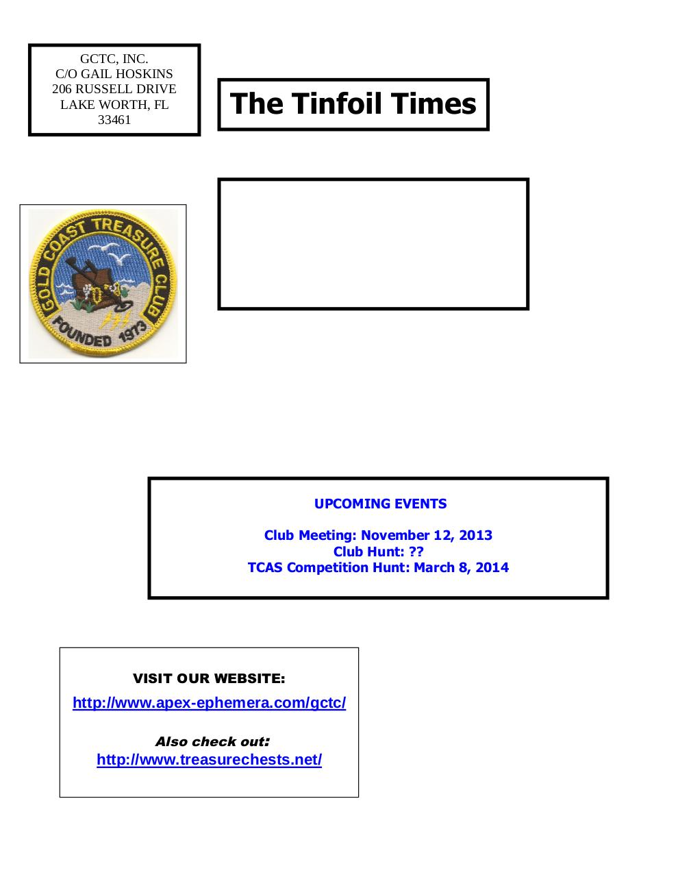 Preview of PDF document gctc-november-2013-newsletter.pdf - Page 6/6
