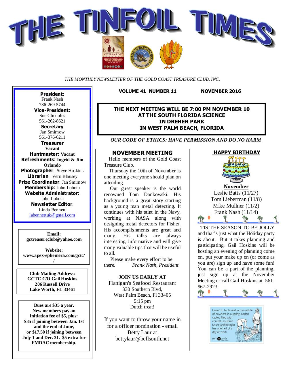 Preview of PDF document gctc-november-2016-newsletter.pdf - Page 1/4