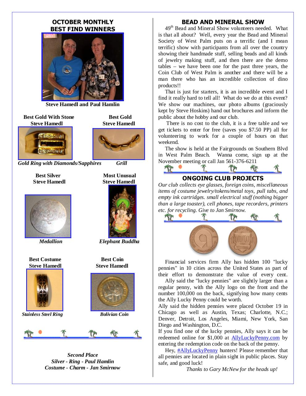 Document preview GCTC November 2016 Newsletter.pdf - page 2/4
