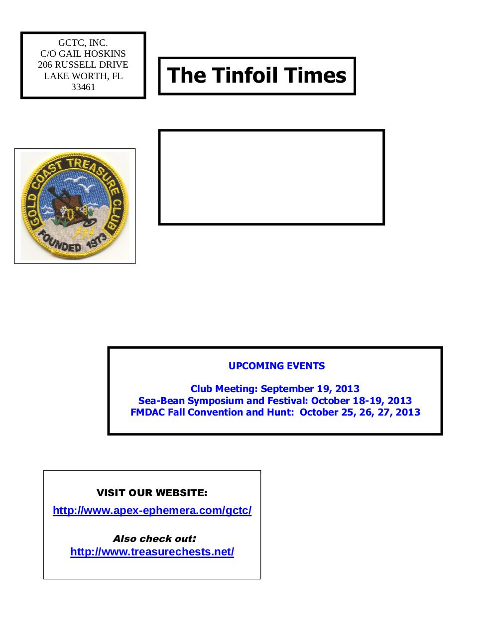 Preview of PDF document gctc-september-2013-newsletter.pdf - Page 6/6