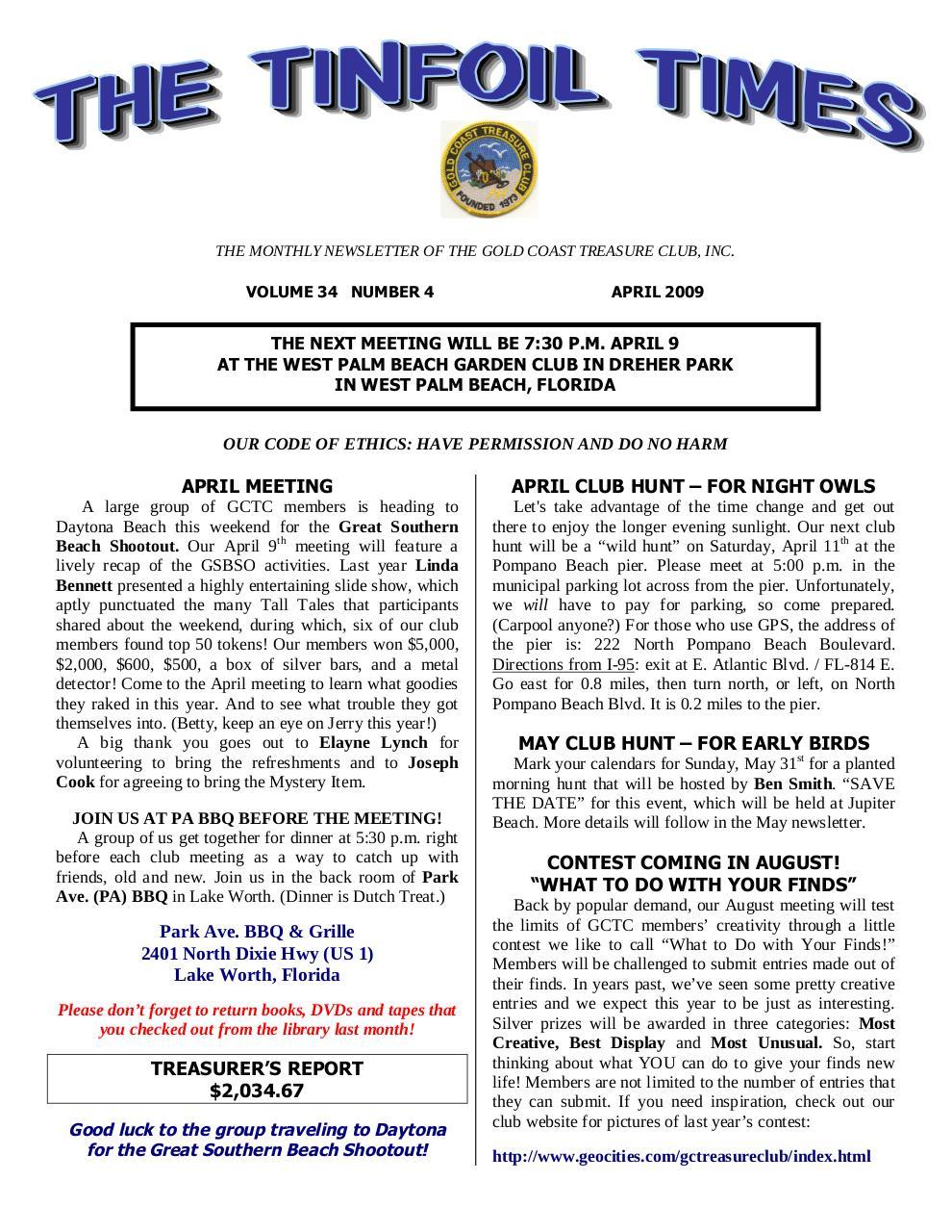 Preview of PDF document 2009-april.pdf - Page 1/8