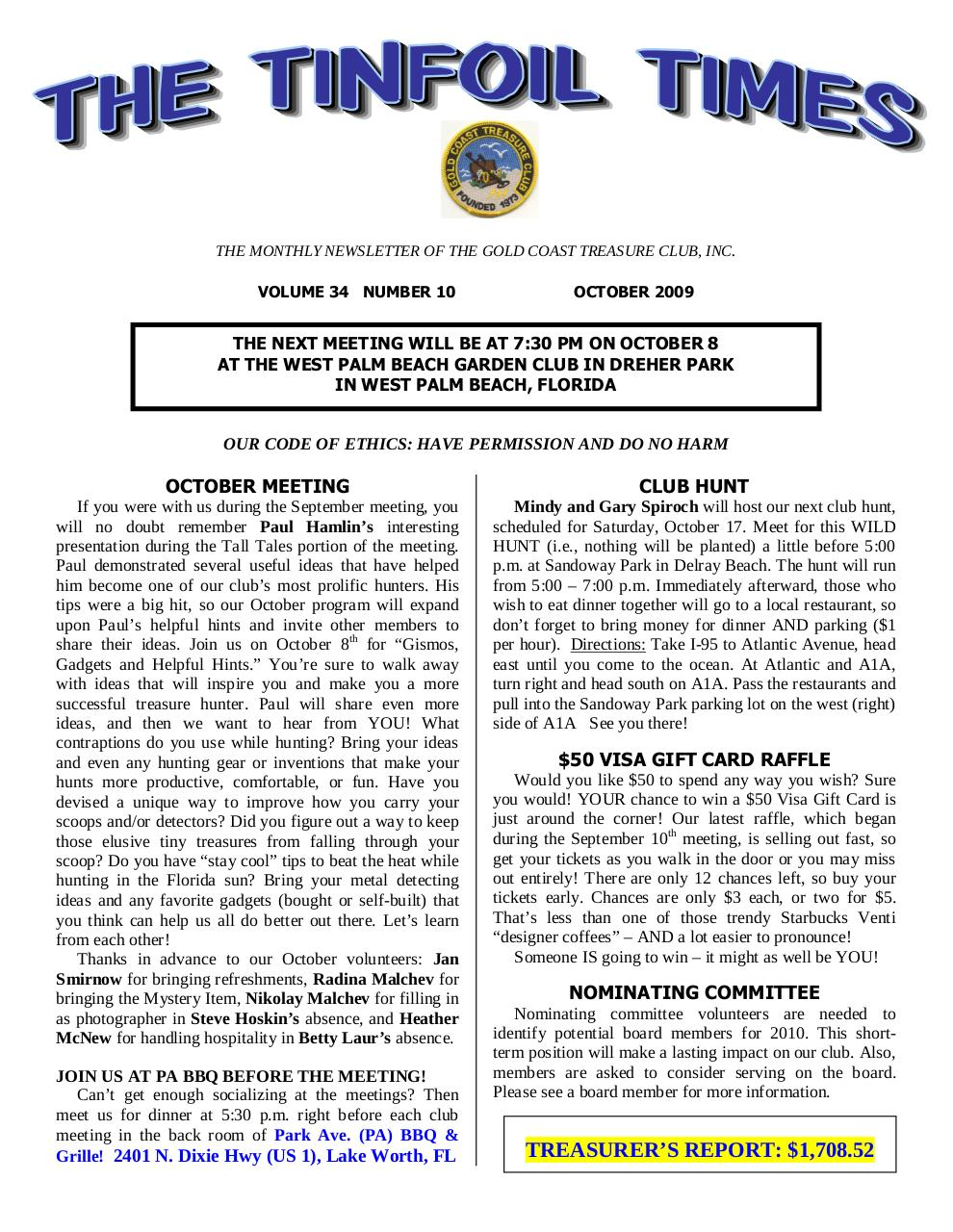 Preview of PDF document 2009-october.pdf - Page 1/8