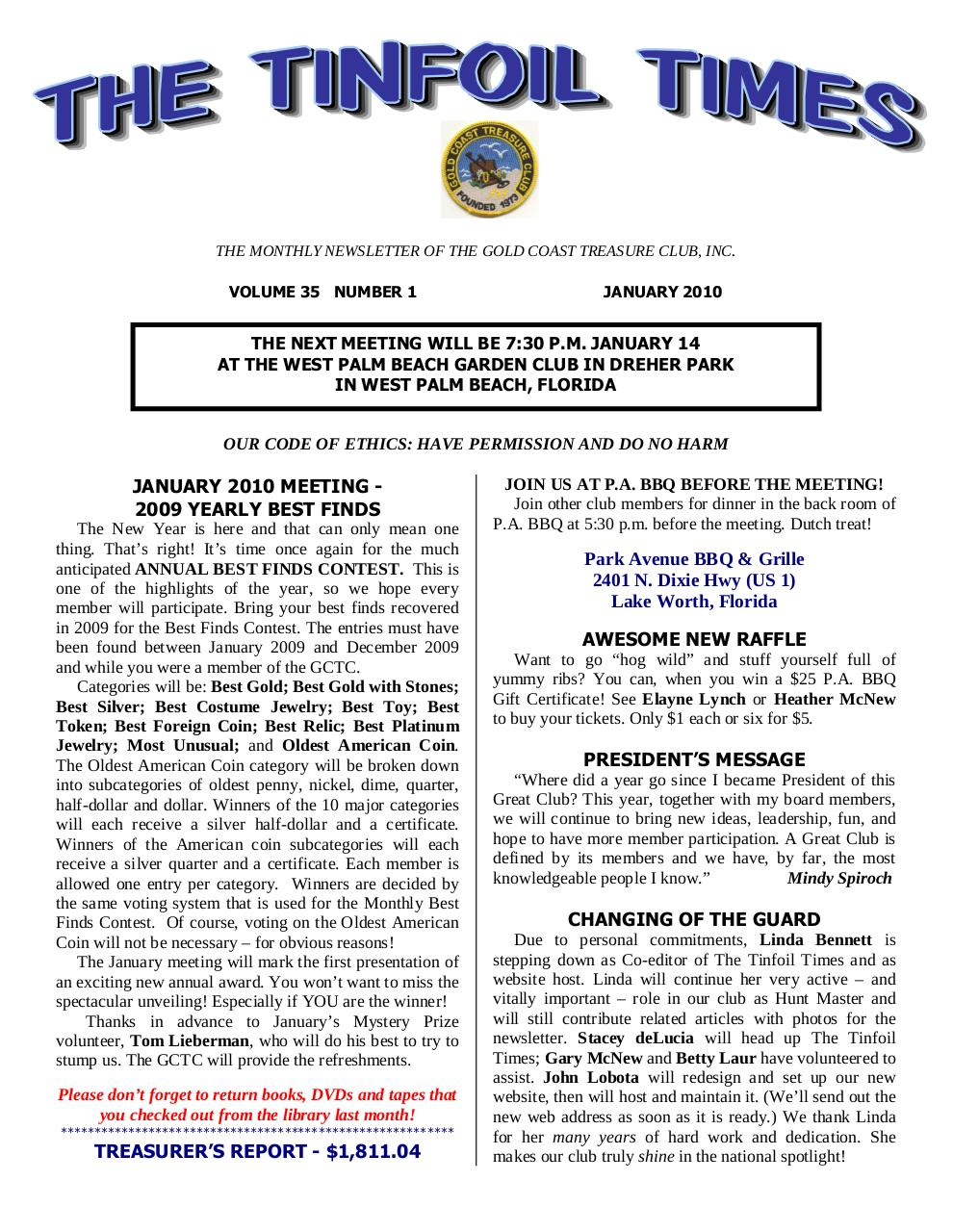 Preview of PDF document 2010-january.pdf - Page 1/12