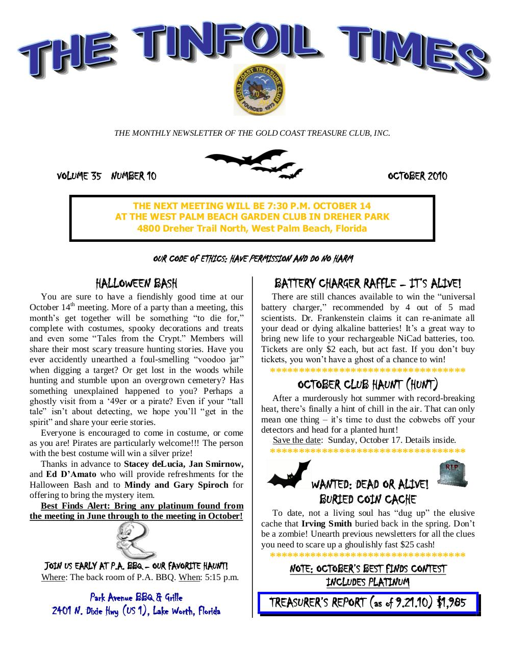 Preview of PDF document 2010-october.pdf - Page 1/8