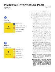 pretravel info pack