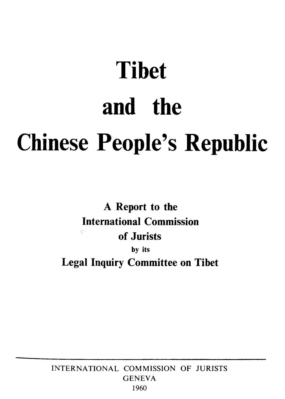 1960 Tibet and the Chinese People's Republic.pdf - page 1/359