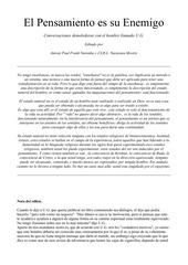 PDF Document el pensamiento es tu enemigo