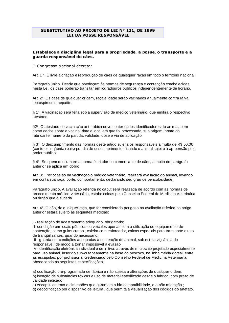 Preview of PDF document lei-da-posse-responsavel.pdf - Page 1/3
