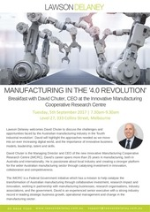 PDF Document manufacturing breakfast invitation