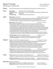 dan turcotte resume