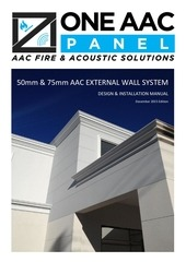 oneaac panel external wall system design guide