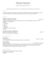 patricknoland resume