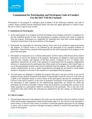 2017 yseali summit code of conduct
