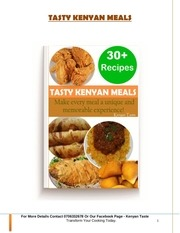 tasty kenyan meals