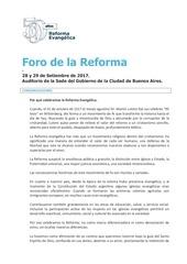 presentacio n del foro de la reforma ii