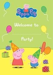 peppa pig birthday pack