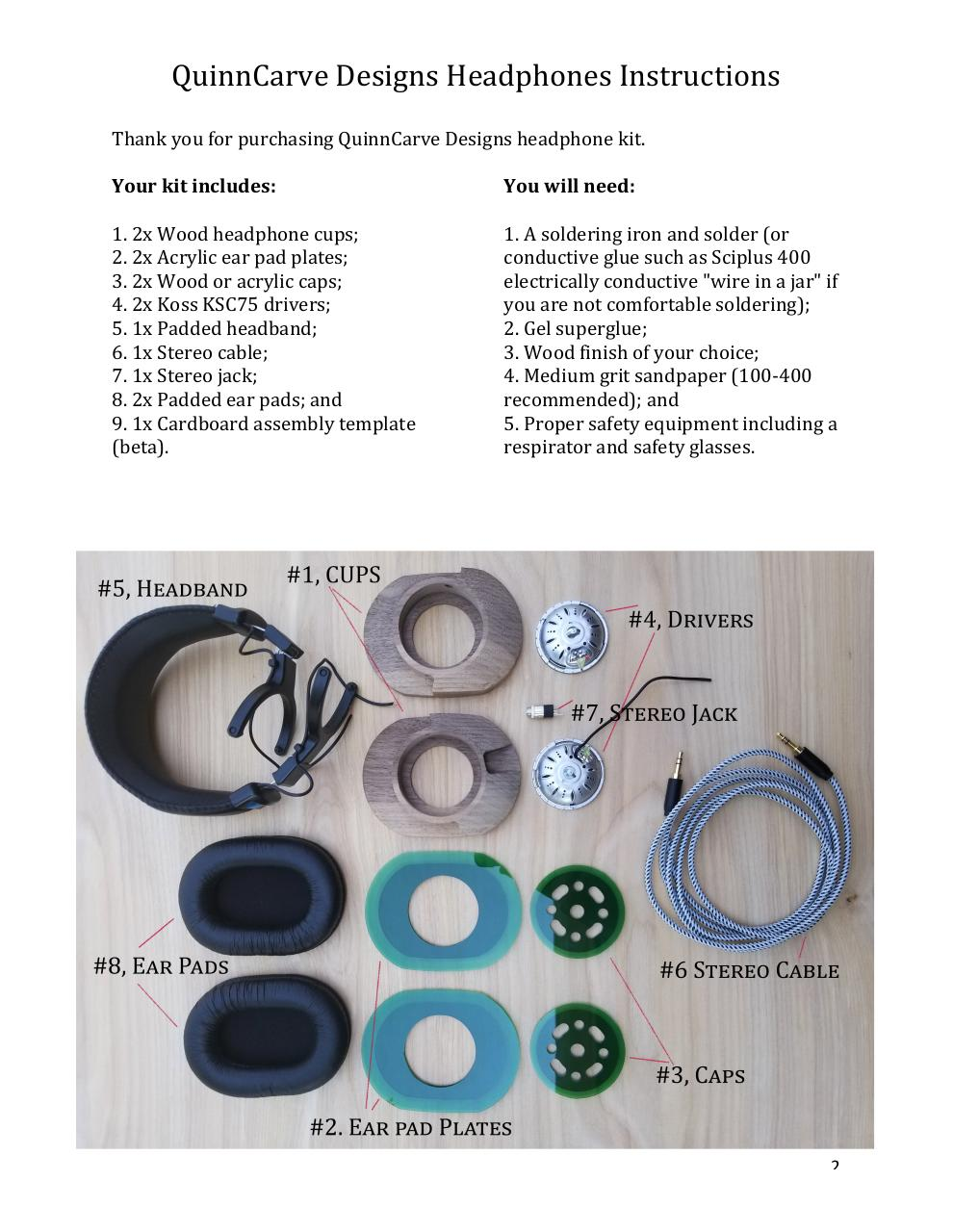 Assembly Instructions for Prototype.pdf - page 2/15