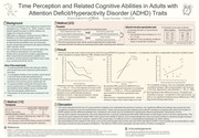 poster time study in adults with ad