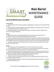 PDF Document rain barrel maintenance