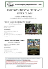 cross country and dressage clinic 1 copy