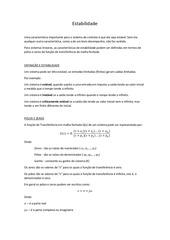 PDF Document estabilidade