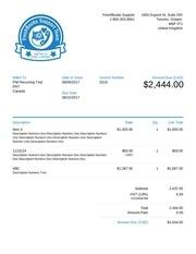 invoice 0219 3