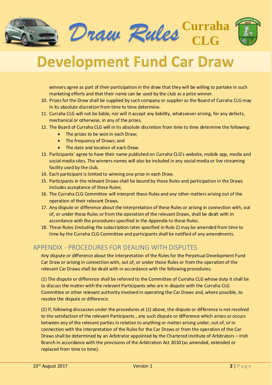 Development Fund Car Draw Rules.pdf - page 2/2