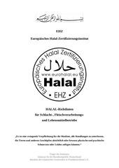 02 ehz halal richtlinien