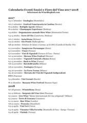 calendario eventi vino