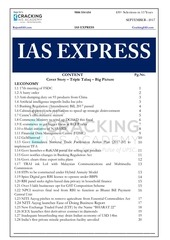 ias express september 2017 raja sir crackingias com