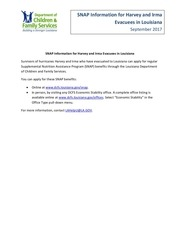 snap explanation for harvey and irma fact sheet 1