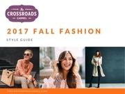 crossroads fall styleguide
