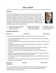 dilip mullick resume 4
