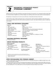 PDF Document storage cabinet
