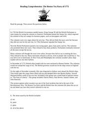 PDF Document reading comp boston tea party