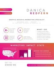 danica redfern design and marketing specialist